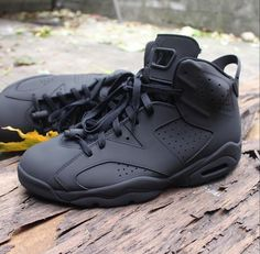 4a13541cb43 Black Jordans, Nike Air Jordans, All Black Sneakers, Tenis Basketball,  Running Shoes