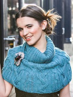 Free Knit Pattern Download -- This Cloos, Berroco design by Norah Gaughan, is featured in episode 3, season 6 of Knit and Crochet Now! TV. Learn more here: https://www.anniescatalog.com/knitandcrochetnow/patterns/detail.html?pattern_id=181&series=2