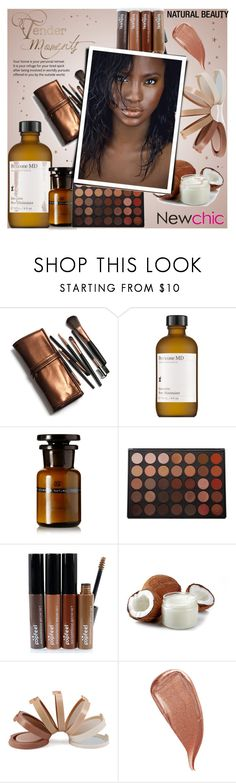 """""""Silesian // Newchic Anniversary Sale"""" by mayblooms ❤ liked on Polyvore featuring beauty, Perricone MD, Morphe and Kevyn Aucoin"""