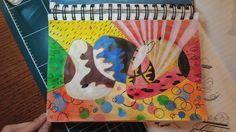 손이 가는데로.... #shapes #patterns #illustration #painting #drawing #페인팅 #드로잉 #패턴 #일러스트레이션