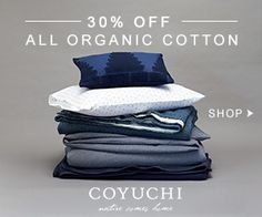 Organic Cotton Sale Ends 6/16/13