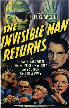 The Invisible Man Returns (1940) Cedric Hardwicke, Vincent Price