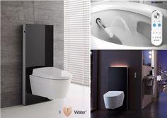 Amazing Digital Toilet Arrives to TileStyle Latest Design Trends, Little Designs, Bathroom Designs, Amazing Bathrooms, Toilet, Bathtub, Decor Ideas, House Design, Shower