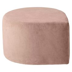 Drop shaped pouf in a delicate velvet by AYTM.  Material: 100% Cotton Velvet Size: D 60 x H 35 cm  Product info:  Use a vacuum cleaner frequently when the pouf is new as it can produce shed fluff for a period of time. Remove all stains immediately- first with a dry, white cotton cloth, then sprinkle the area with water and dab again with a clean cloth. Never use any chemicals. If the removal of the stain fails, please use professional cleaning help. Please note that the fabric colours may