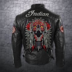 Although most of us, as men, seem to be sloppy about clothing, in most cases we attach importance to quality and style dressing almost as much as women. Men's Leather Jacket, Leather Men, Jacket Men, Leather Jackets, Indian Cycle, Vintage Indian Motorcycles, Bike Wear, Mens Fashion Blog, Motorcycle Outfit