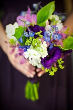 Bouquet. This is stunning...less green