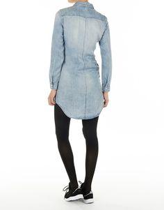 8b1db7fc2a2724 Koop Jurk - Henna Light BLue Tencel DNM Dress QYT Light Blue Denim Online  op lemonenlime.com voor slechts € 49