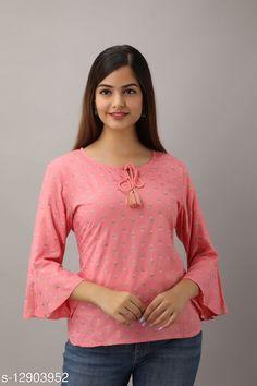Tops & Tunics Jivika Premium Peach Rayon Printed Women Top Fabric: Rayon Sleeve Length: Three-Quarter Sleeves Pattern: Printed Multipack: 1 Sizes: S (Bust Size: 36 in)  XL (Bust Size: 42 in)  L (Bust Size: 40 in)  M (Bust Size: 38 in)  XXL (Bust Size: 44 in)  Country of Origin: India Sizes Available: S, M, L, XL, XXL   Catalog Rating: ★4.1 (489)  Catalog Name: Urbane Ravishing Women Tops & Tunics CatalogID_2508140 C79-SC1020 Code: 623-12903952-087