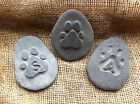 Buy Pet Stepping Stone mold garden plaque Beaded Paw Print Dog Cat Memorial Grave at online store Memorial Garden Plaques, Memorial Garden Stones, Memorial Cards, Cat Memorial, Thing 1, Amazing, Hand Carved, Dog Cat, Memories