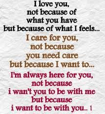 Image result for I need you not because i want you but because I love you