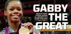 To every little girl who ever tried to do something other's said she couldn't do, every mother who told her little girl she could do anything she set her mind to.  Every father who paid the bills and watched while holding his breath as his little girl stepped onto a stage, court, or arena, may I present, Ms. Gabby Douglas.  Do not hold your applause.