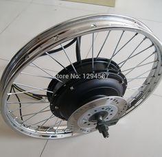 "350.00$  Buy now - http://ali2ou.worldwells.pw/go.php?t=32234443656 - ""48v-96v 5kw ebike motor wheel, 16"""" 17"""" 18"""" 19"""" 21"""" motorcycle rim wheel"" 350.00$"