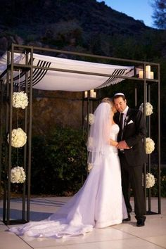 Chuppah... without the blanket over top