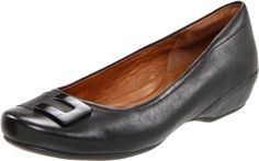 Clarks Women's Concert Choir Flat,Black Leather,8 M US -  Lift your voice for style and comfort with the versatile Clarks Concert Choir flat. This chic women's slip-on features a smooth, patent or metallic leather upper with a smart buckle accent. A flexible, lightweight rubber sole lends traction to the Clarks Concert Choir skimmer, while the ... #Shoes