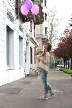 Daily outfit: me, i palloncini, il rosa e Sofia Coppola - We Love Fashion Magazine