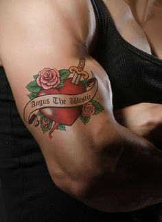 An Angus tatoo