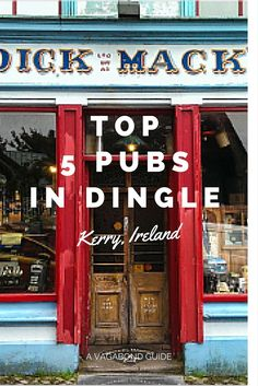 The Irish Pub is an institution known throughout the world, often copied but never equaled. There is an estimated 7,000 Irish themed pubs worldwide from Abu Dhabi to Zimbabwe but to truly experience an authentic Irish Pub you must come to Ireland.. Of any town in Ireland to boast some of the best, most authentic, pubs on the entire Island, it would have to be Dingle, the town of 50+ pubs!
