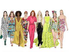 Fierce #instagram #instagood #photooftheday #sketchoftheday #illustration #fashion #fashionista #style #design #runway Runway, Instagram, Illustration Fashion, Design, Joy, Dresses, Style, Vestidos, Swag