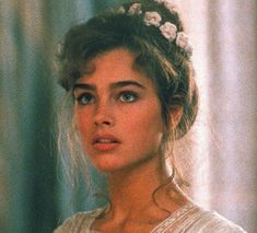 "Brooke Shields in ""Endless Love"", 1981 Princess Aesthetic, Aesthetic Girl, Blonde Aesthetic, Model Tips, 3 4 Face, Photographie Portrait Inspiration, Drawing People, Aesthetic Pictures, Pretty Face"