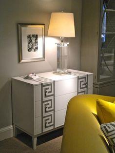 Ikea Malm Dresser + Stencil = Look for Less
