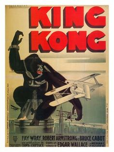 Image result for King kong 1920 movie poster
