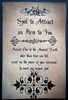 Attraction Spell