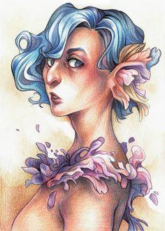 flower elf lady :)  https://www.facebook.com/art.kuroi