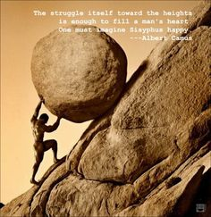 Sisyphus.  sigh.