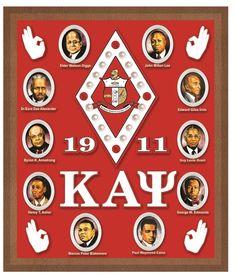 KAPPA ALPHA PSI ACRYLIC TOPPED WALL PLAQUE Sacred 3, Kappa Alpha Psi Fraternity, Alpha Phi Alpha, Black Fraternities, Greek Paraphernalia, Greek Paddles, Divine Nine, Africa Art, Greek Life