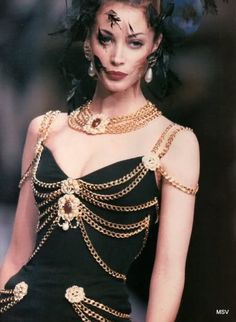 Chanel Haute Couture F/W 1992
