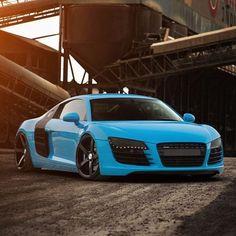 Ice Blue R8...