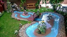 See our garden ideas and take care for the outdoor place. See how to do it yourself garden you need to see to believe. Do it yourself garden is showing Unique Gardens, Amazing Gardens, Diy Garden Projects, Garden Tools, Do It Yourself Garten, House Painting Cost, Water Features In The Garden, Garden Edging, Outdoor Areas