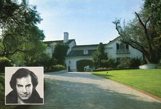 The home of Neil Diamond, Beverly Hills, California