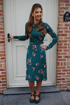 Clothing :: Vogue dress tumble groen - King Louie