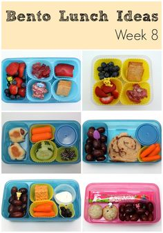 Bento Lunch Ideas: Week 8