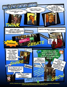 AASL's21stcenturylearnerposter, via Flickr.