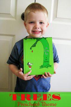 Mommy's Little Helper: Trees Preschool Theme