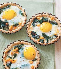 Tartaletas de huevo. Hidratos, proteinas y fibra , equilibrio perfecto