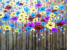 Paint this fun Spring painting on March 22nd!