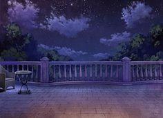 Balcony, Scenery, Background, Anime Background, Anime Scenery, Visual Novel Scenery, Visual Novel Background