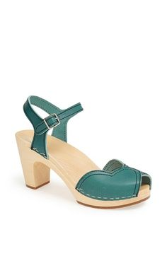 Found my wedding shoe! Swedish Hasbeens 'Heart' Sandal available at #Nordstrom