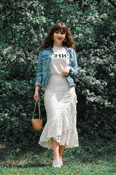 Outfit Trends summer 2019 – Style is art Mode Outfits, Dress Outfits, Casual Dresses, Casual Outfits, Floral Skirt Outfits, Formal Outfits, Dress Shoes, Modest Fashion, Fashion Dresses
