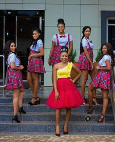 South African Dresses, South African Traditional Dresses, African Bridesmaid Dresses, African Dresses For Kids, African Wedding Attire, African Attire, African Wear, African Fashion Dresses, African Print Fashion