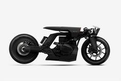 created by barbara custom motorcycles, this series of bike concepts depicts the future for bike-brands husqvarna, triumph, and BMW.
