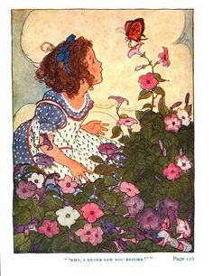Why, I never saw you before! - The Garden of Heart's Delight, A Fairy Tale by Ida Huntington, 1911