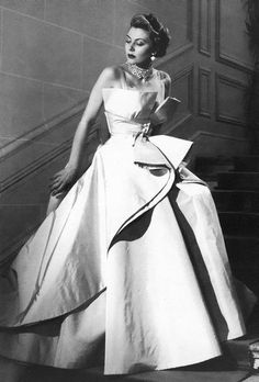 Dior in the 1950's