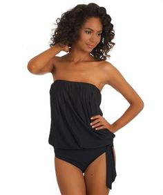 I love the 'Athena Heavenly Black Bandini Top and Full Coverage Bottom'. Shop SwimSpot.com