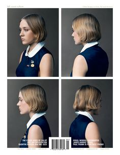 Thinking about getting Chloe Sevigny hair cut. Looks better on her but ... might work some days for me.