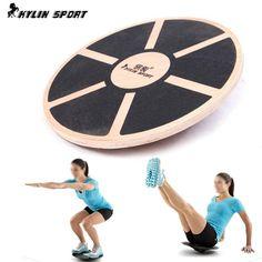 Wooden Balance Board Skid Counterweight Balance Training
