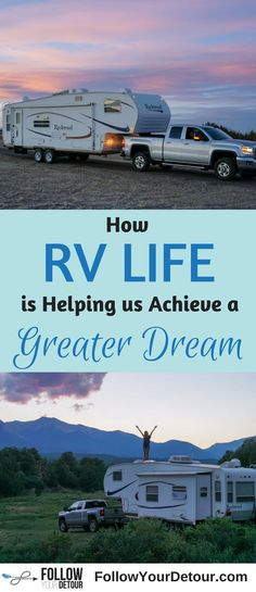 Living, traveling, and camping in an RV full-time isn't just all about the travel. It's allowed us to achieve a greater life dream. We've been able to reach our goal of location independence and work from anywhere we want. This has allowed us so much freedom in our life...all because of RVing. This post includes tips, ideas, and resources for how YOU can achieve this too. Make money on the road and live the best lifestyle imaginable. #RVlife #rvlifestyle #locationindependant #freedom…